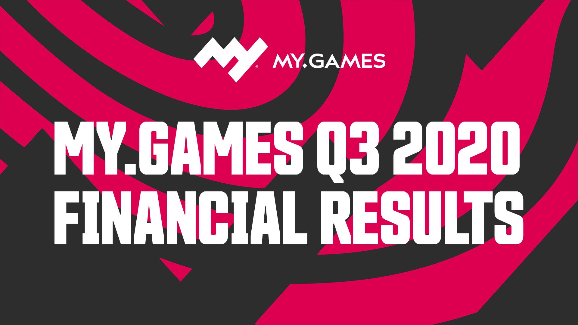 MY.GAMES 第三季度收入增长 33% 《零度城市》在中国大受欢迎