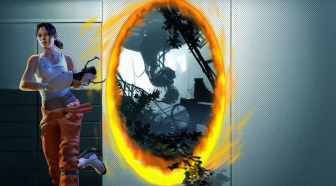 游戏新消息:传送门2新MOD跨越时空的第三道门登场