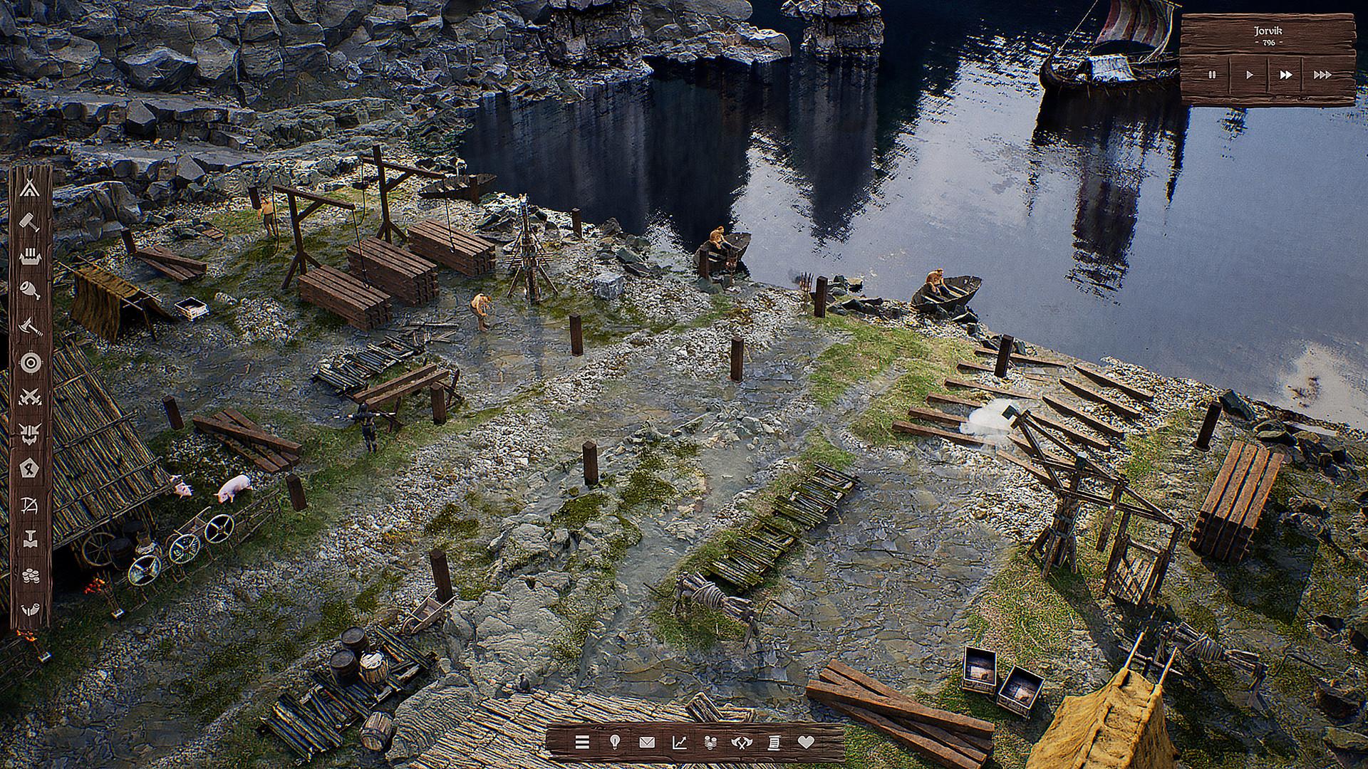 游戏新消息:首个带光追即时战略游戏维京城建设者上架Steam