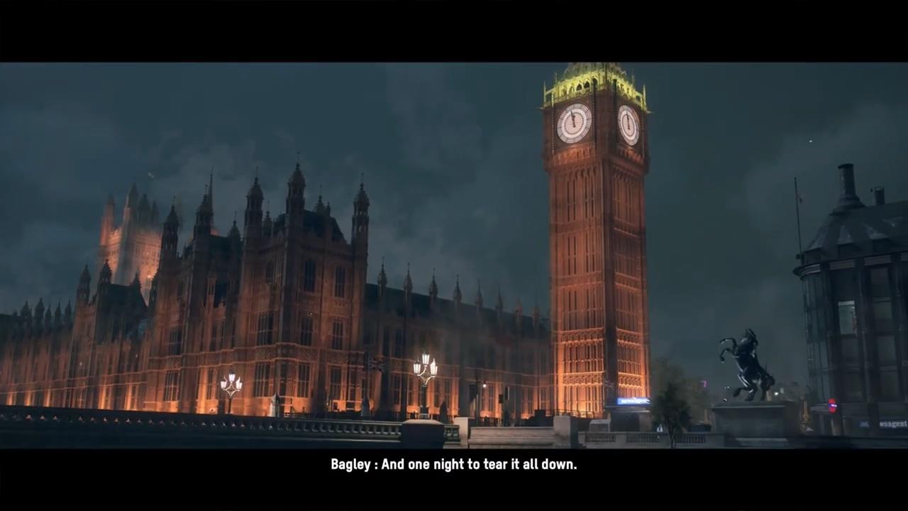 临近发售 《看门狗:军团》公开开场主线任务视频