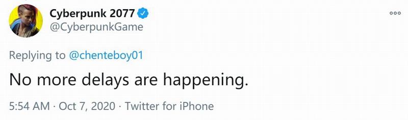 《赛博朋克2077》再次跳票惹玩家争议  自己啪啪打脸不疼么