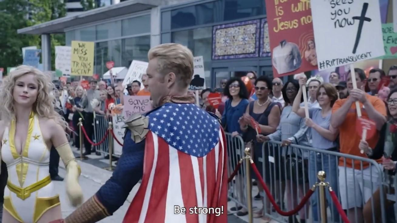 《黑袍纠察队》第二季NG片段 祖国人大口喝奶喝