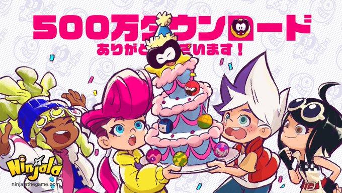 《泡泡糖忍战》累计下载突破500万 官方贺图与奖