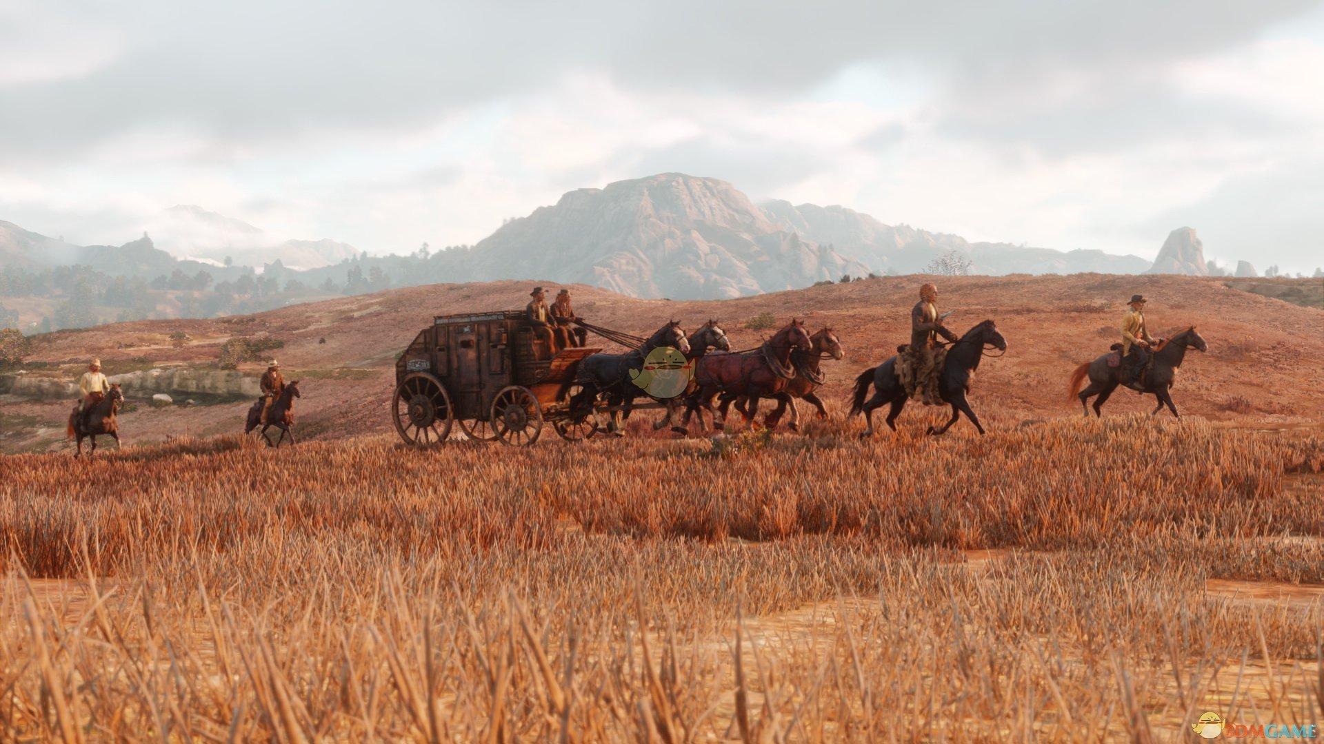 《荒野大镖客2》山地和草原栖息地全动物一览