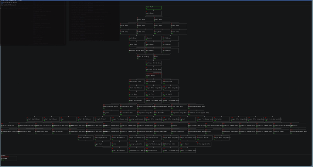 《圣歌》2.0开发日志:机甲技能树系统详解
