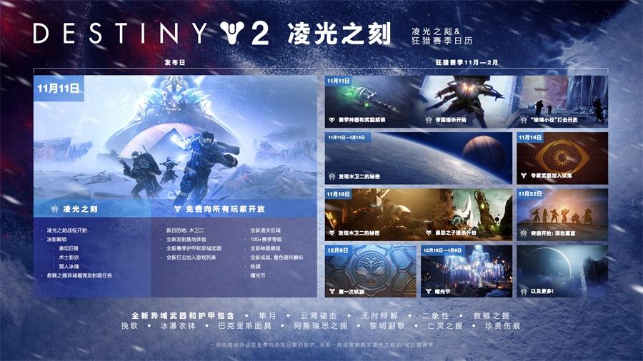 《命运2凌光之刻》开发者讲解视频公布,全新资料片内容大曝光