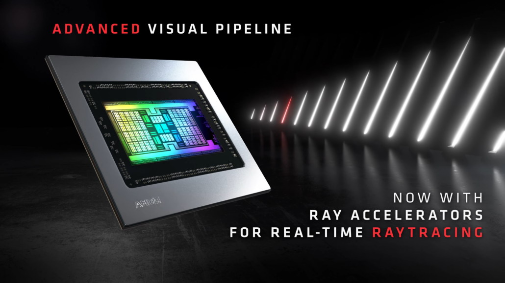 硬件加速光追性能对比 RTX3080领先RX6800XT 33%