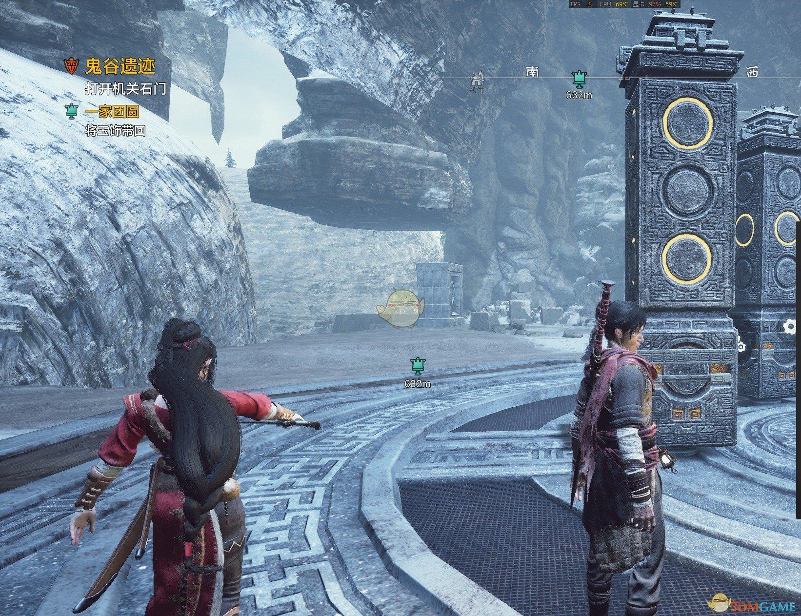 《轩辕剑7》鬼谷遗迹第二个机关打开方法介绍