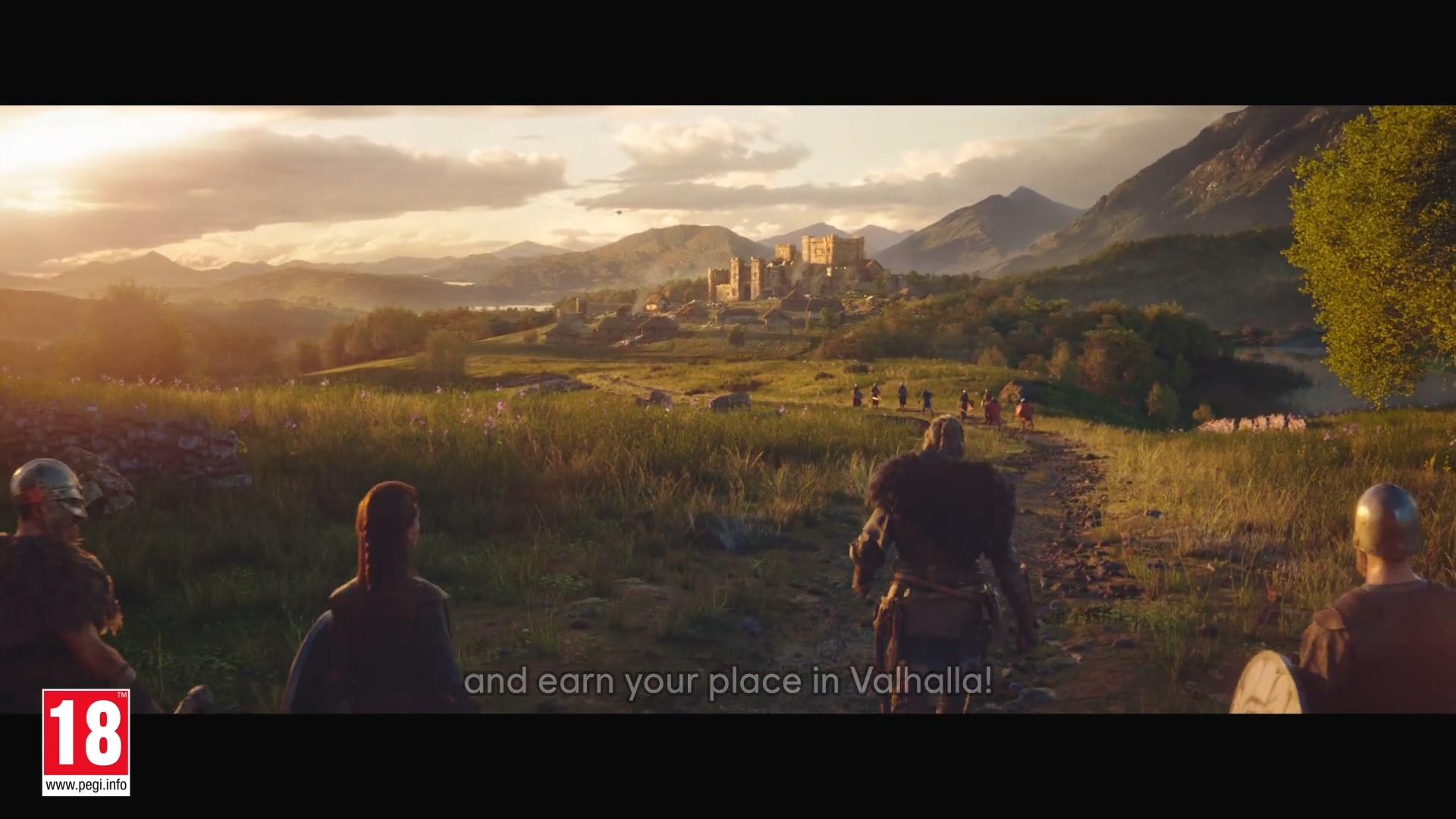 《刺客信条:英灵殿》90秒TV广告公布 维京战士强悍来袭