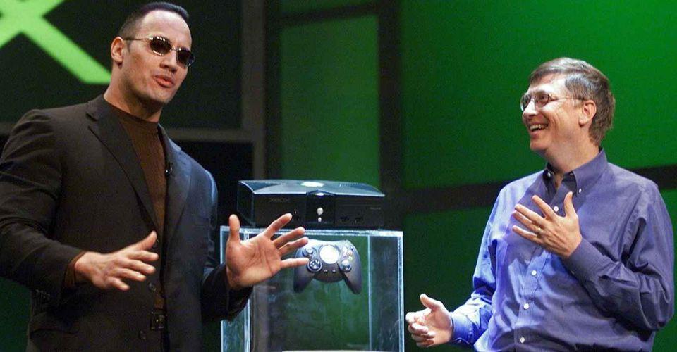 网上曝出微软为巨石强森定制的Xbox Series X