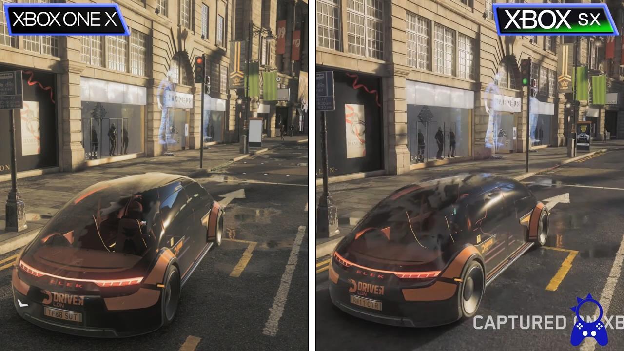 《看门狗:军团》XSX与X1X版对比 光追让画面大提升