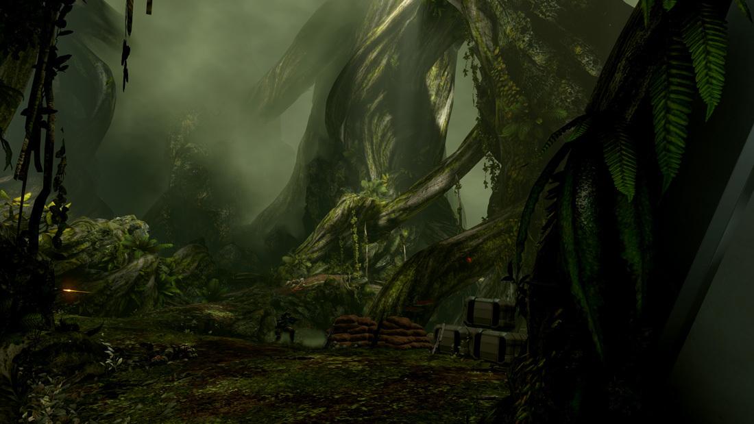 《光环4》PC版新截图发布 4K下的华丽体验