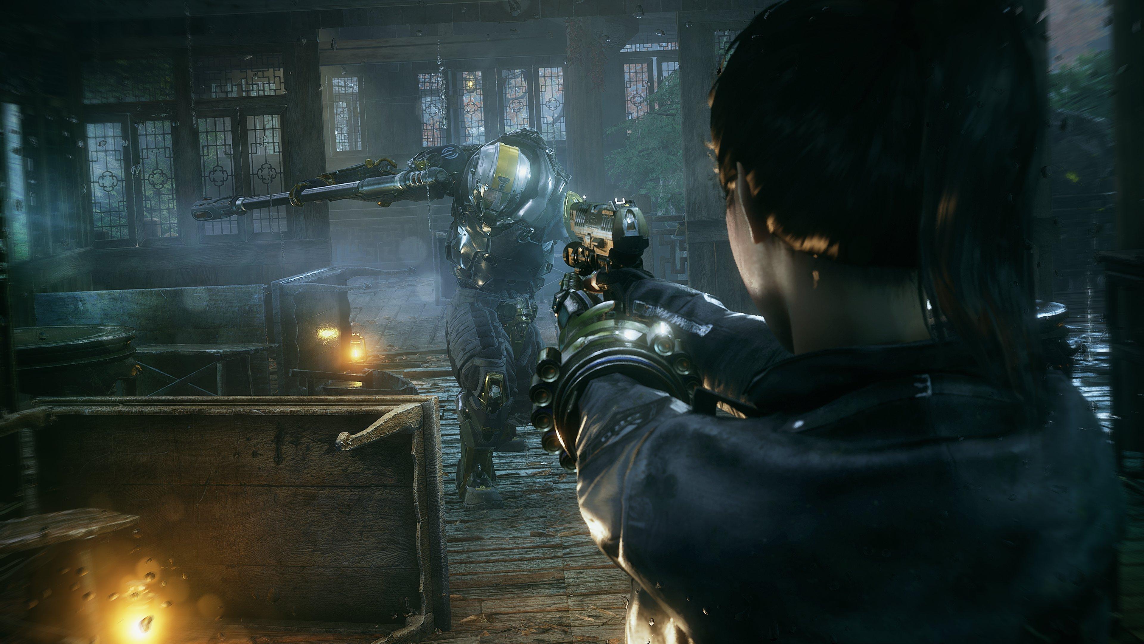 《光明记忆:无限》游戏截图 官方确认开发非常顺利