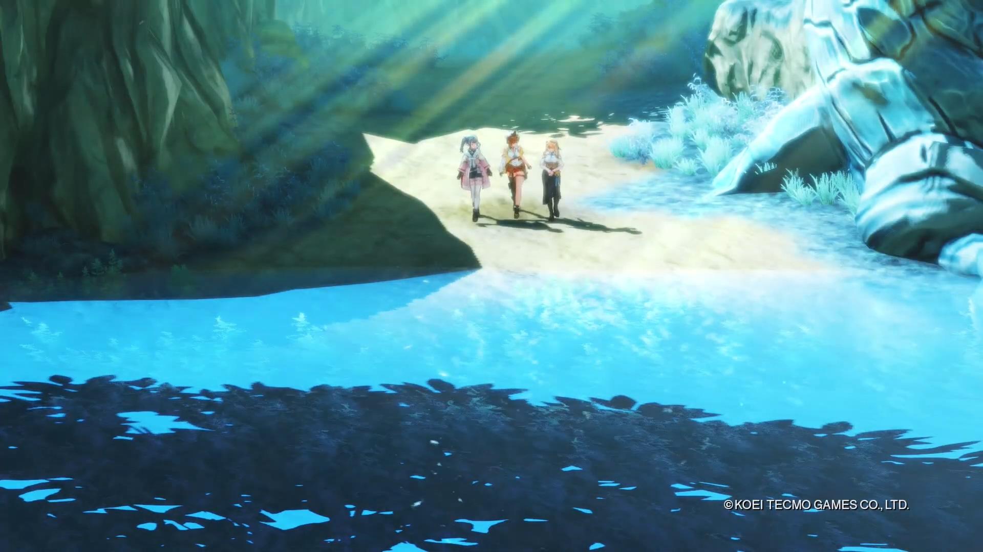 《莱莎的炼金工房2》开场动画公开 中文版同步发售