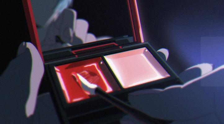 EVA联动KATE宣传片公开 酷冷绫波丽首次使用口红别有气质