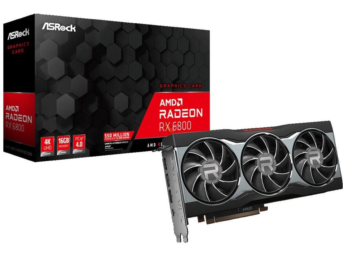 华擎、撼讯发布AMD RX 6800系列显卡 公版设计
