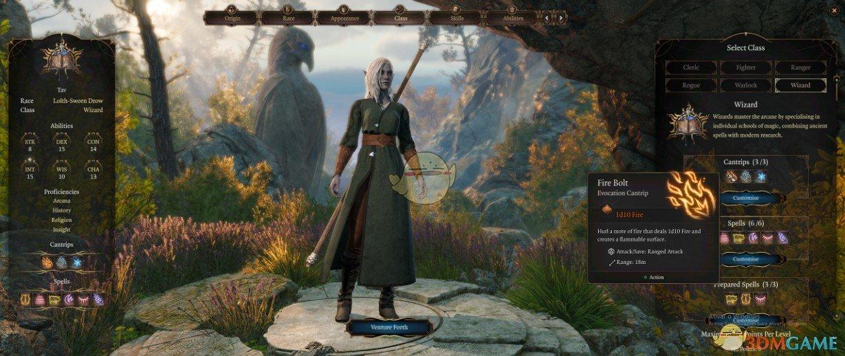 《博德之门3》游戏平衡补丁