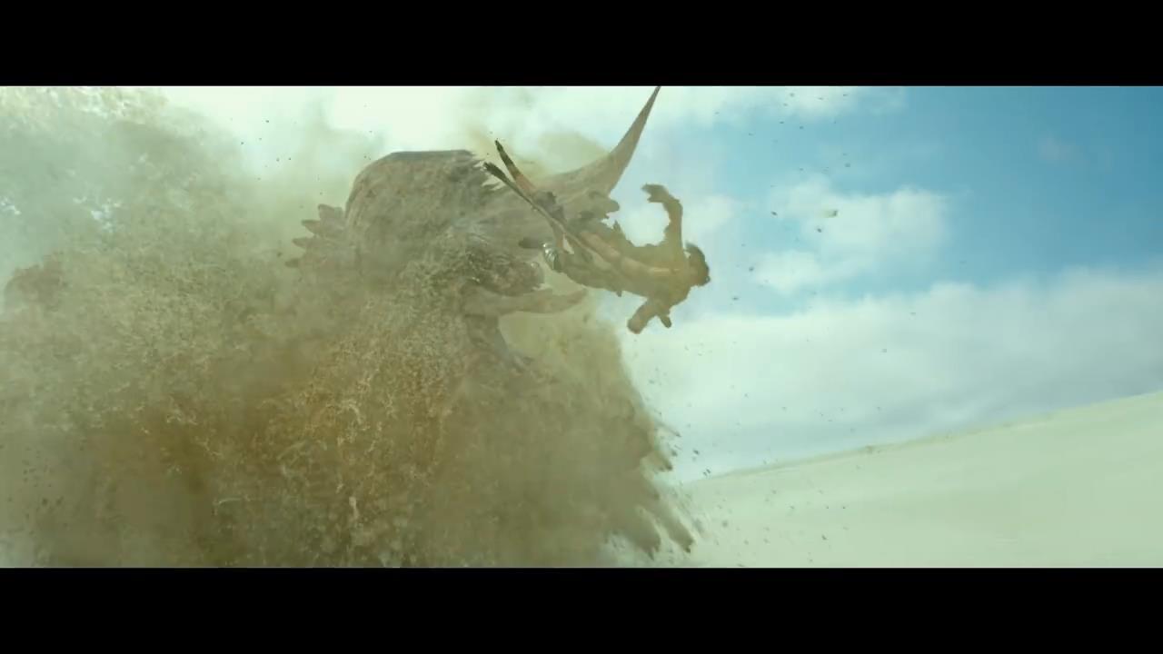 游戏改编电影《怪物猎人》中文预告 承认引入中国内地