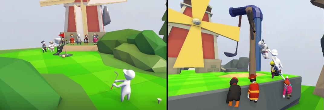 WeGame《面条人》地图盘点:脑洞与挑战