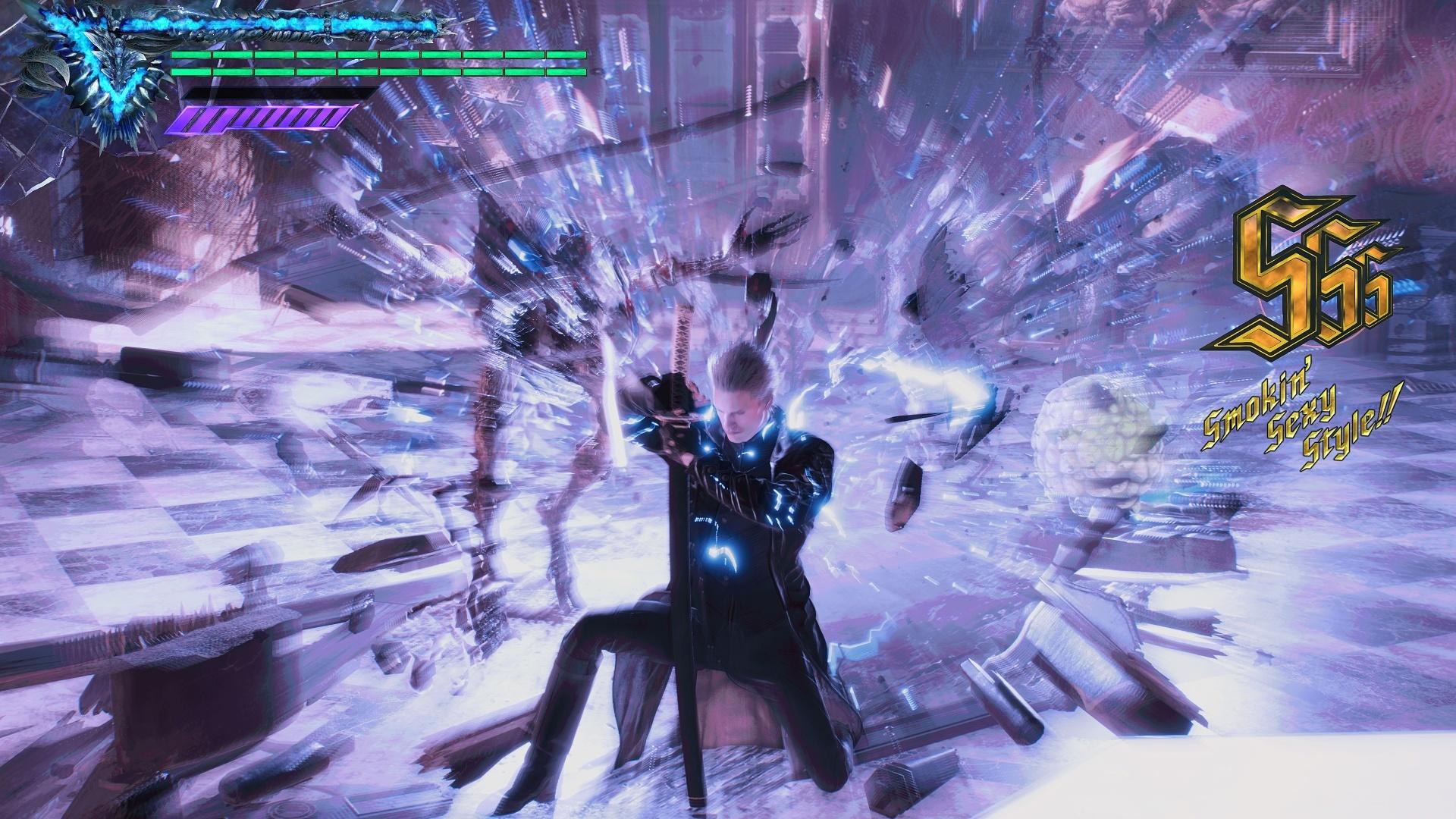 《鬼泣5:特别版》PS5试玩体会 全新要素让战役更英俊