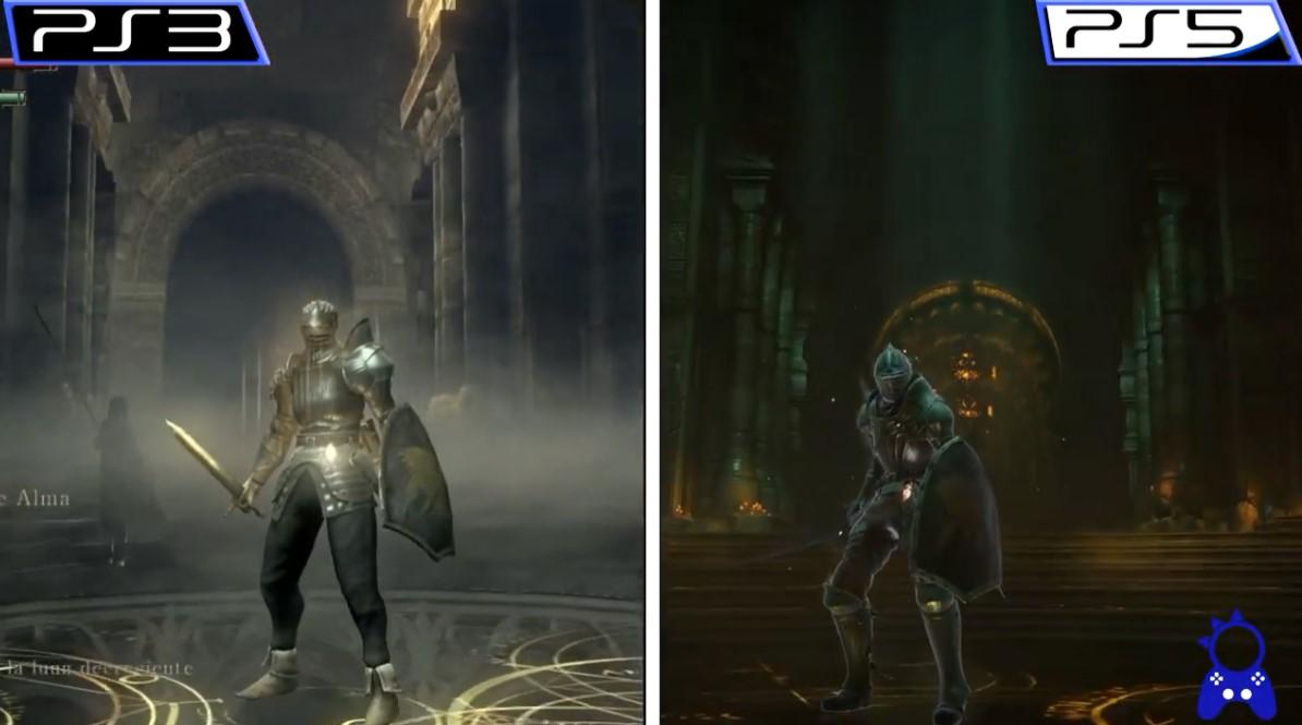 《恶魔之魂:重制版》与原版实机比照 肯定全面提高