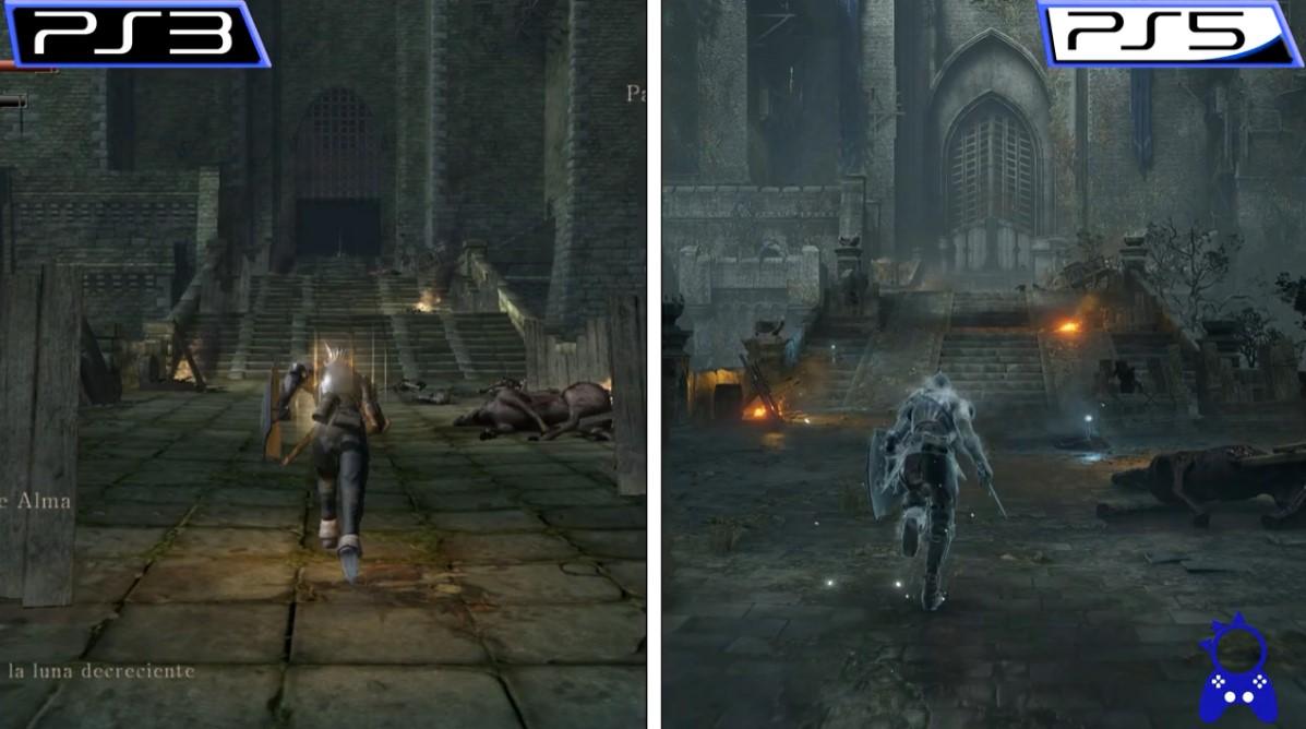 《恶魔之魂:重制版》与原版实机对比 绝对全面提升