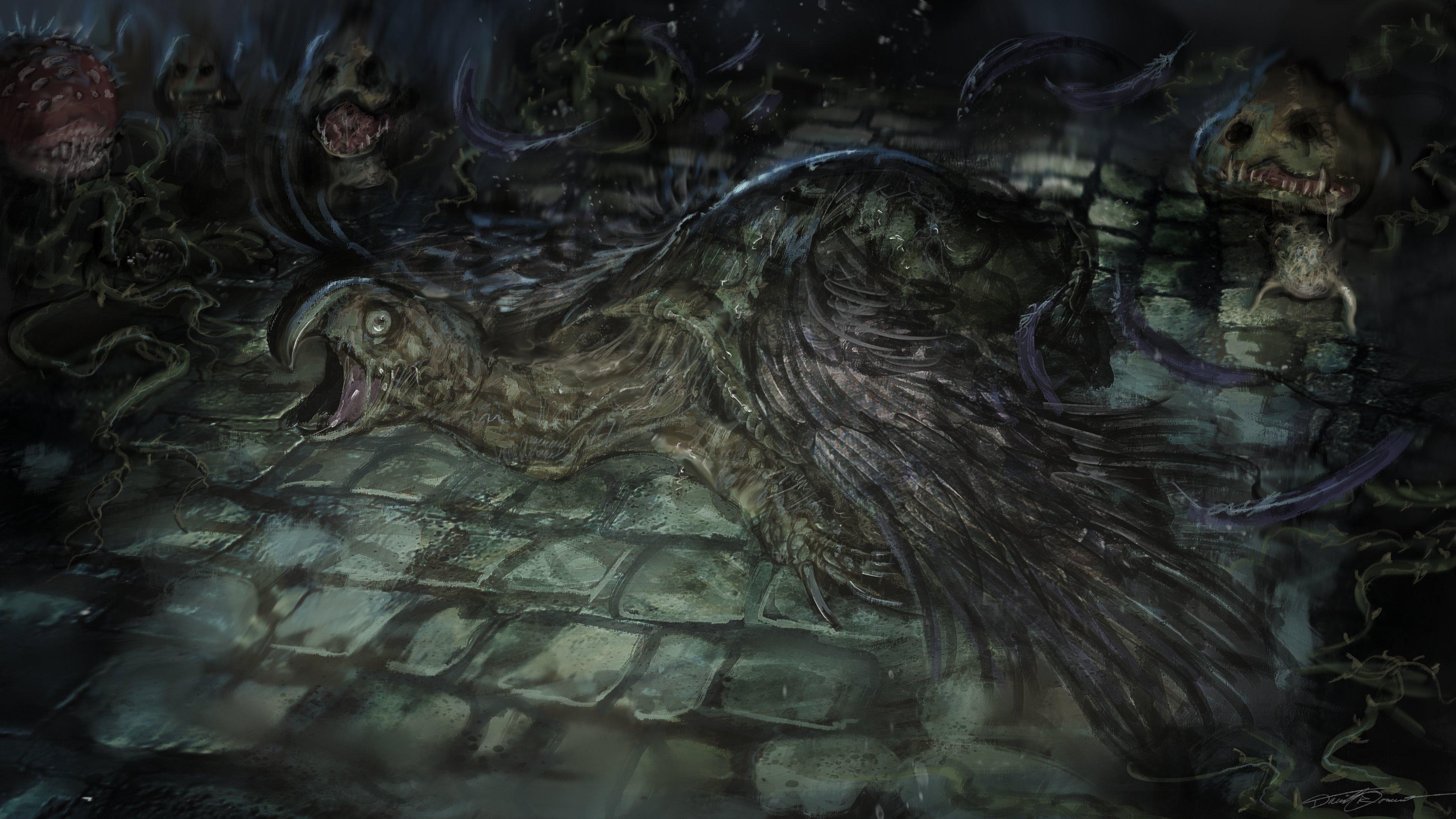 《血源》版《马里奥》艺术图欣赏 黛西公主帅气十足