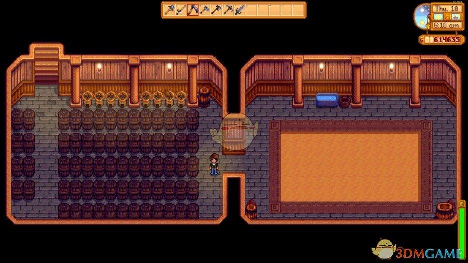 《星露谷物语》带耕地的地窖扩展MOD