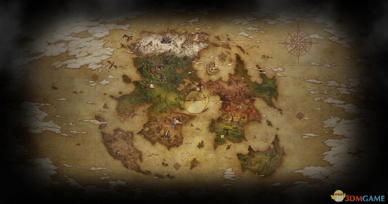 《Wallpaper Engine》最终幻想11巴纳迪尔世界地图动态壁纸