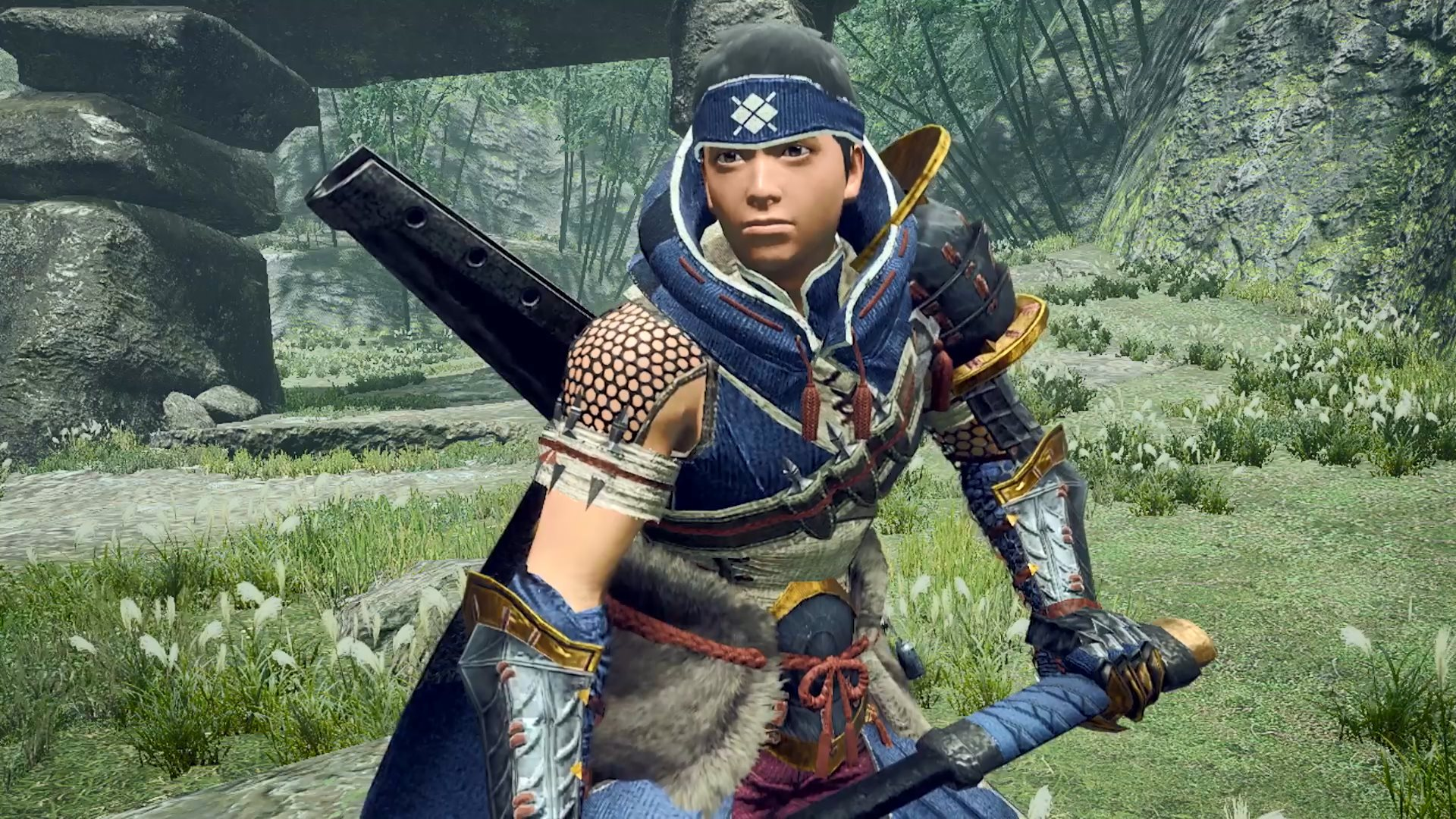 《怪物猎人:崛起》防具展示 全员蓝装准备出击
