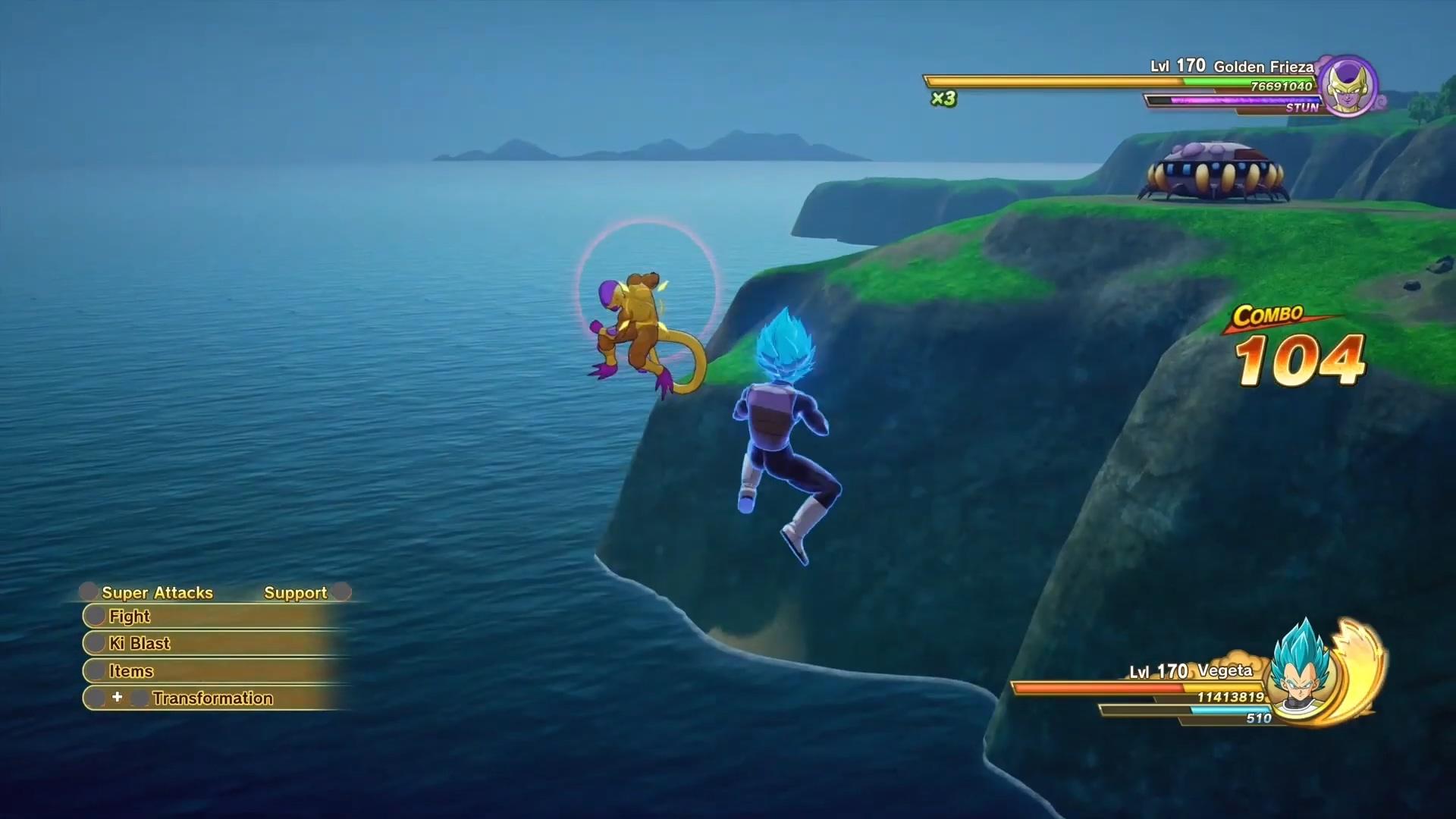 《龙珠Z:卡卡罗特》DLC Vegeta vs Golden实机演示 今秋发布