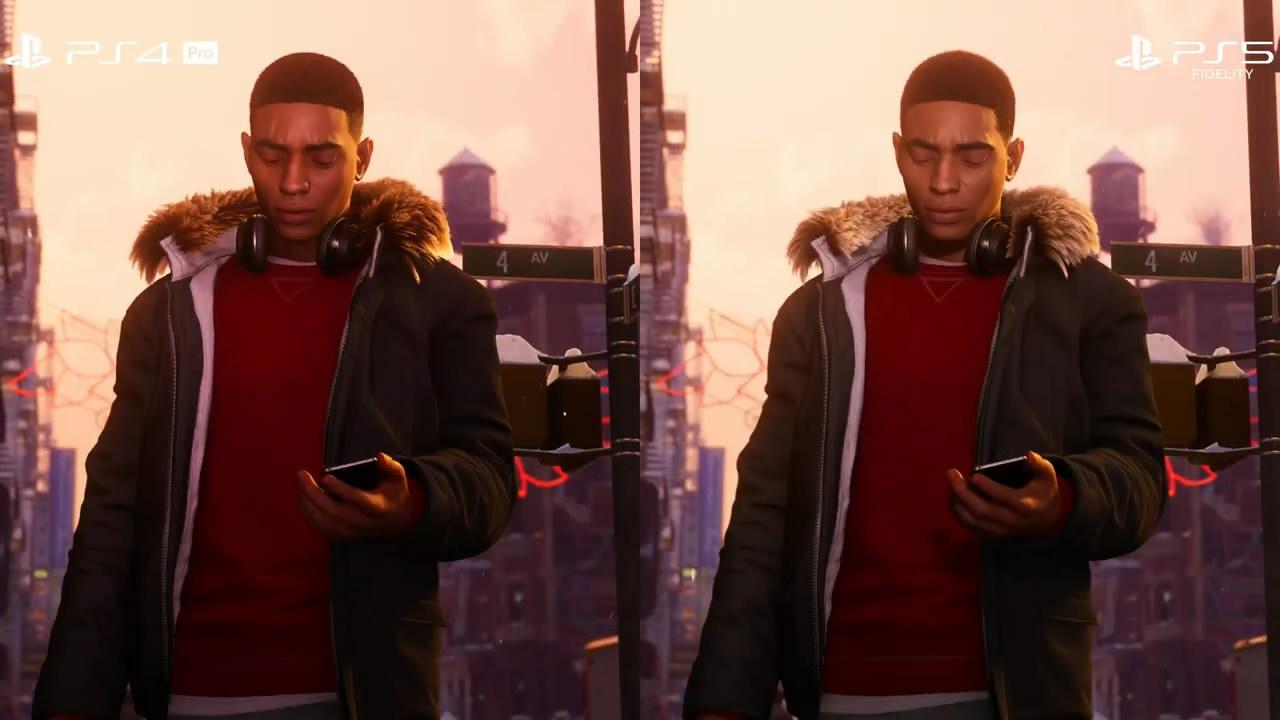 《漫威蜘蛛侠:迈尔斯》PS5/PS4/PS4 Pro/对比视频