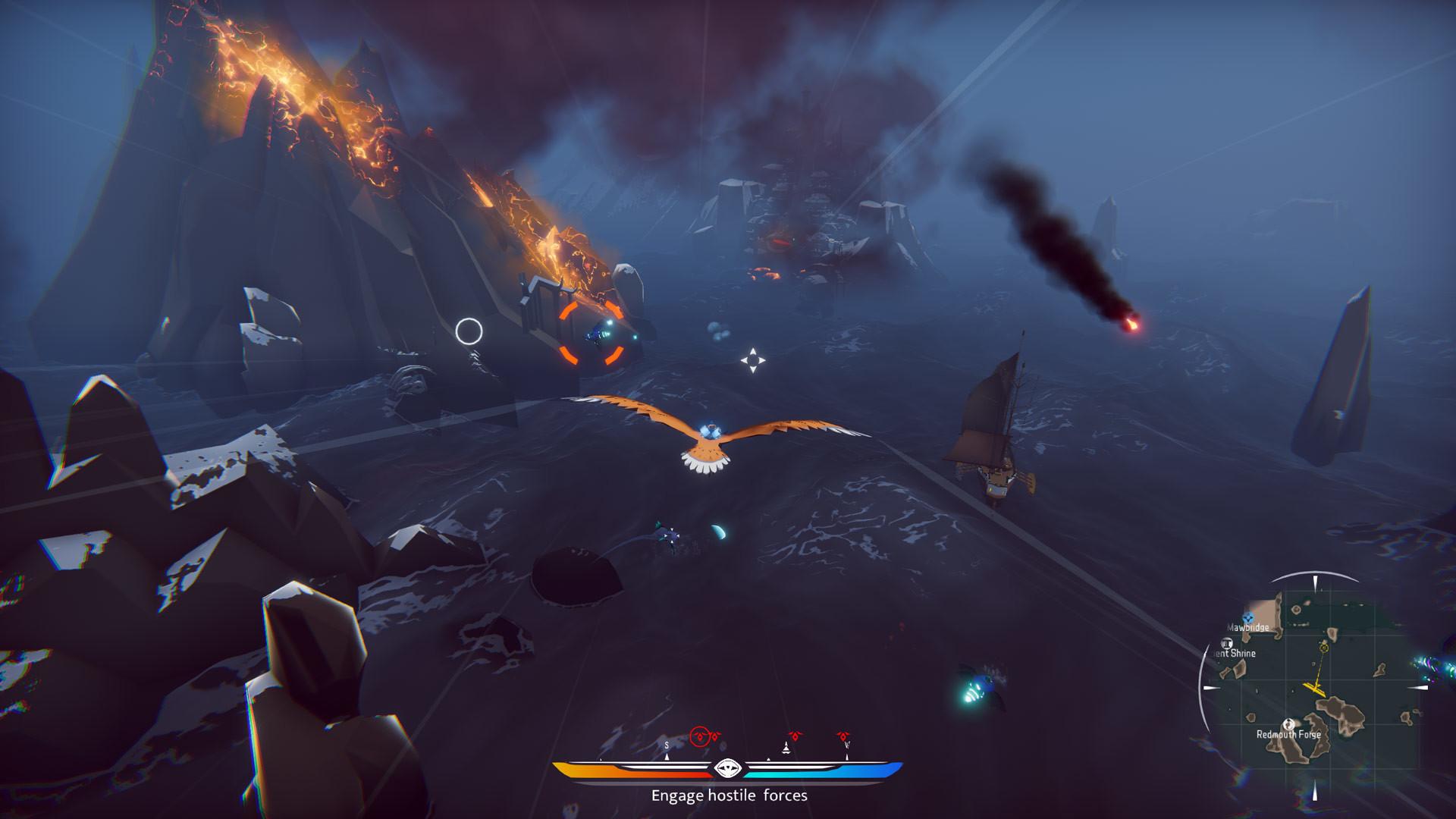 《空战猎鹰》现已登陆PC 驾御雄鹰探究奇幻国际
