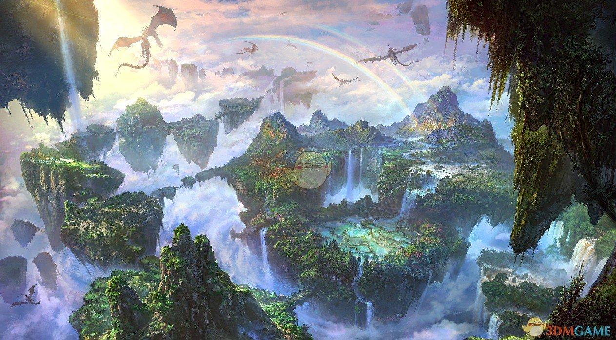 《Wallpaper Engine》天空岛大陆群动态壁纸