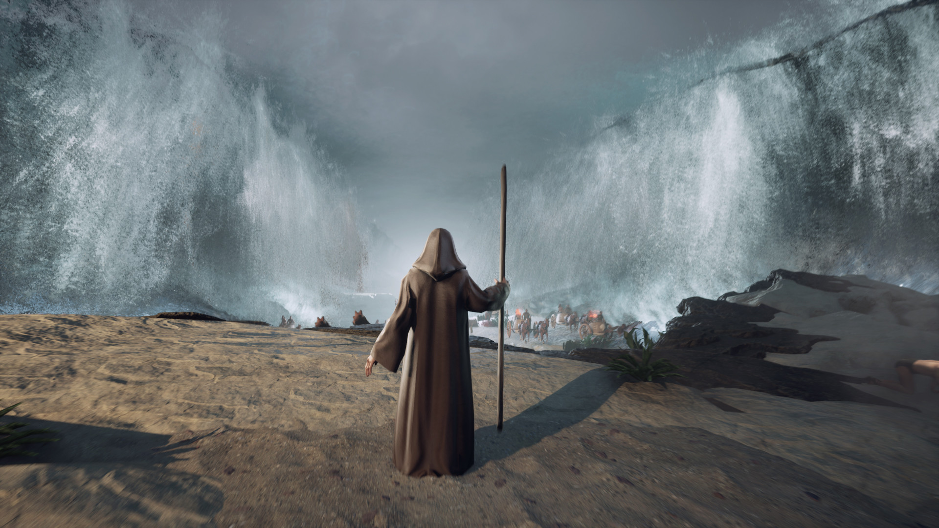 圣经故事改编 动作冒险游戏《摩西:出埃及记》正式发布