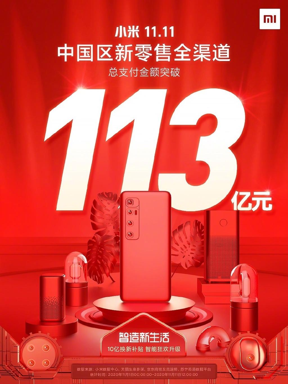 小米电视双11称王:天猫京东苏宁三平台销量销售额No.1