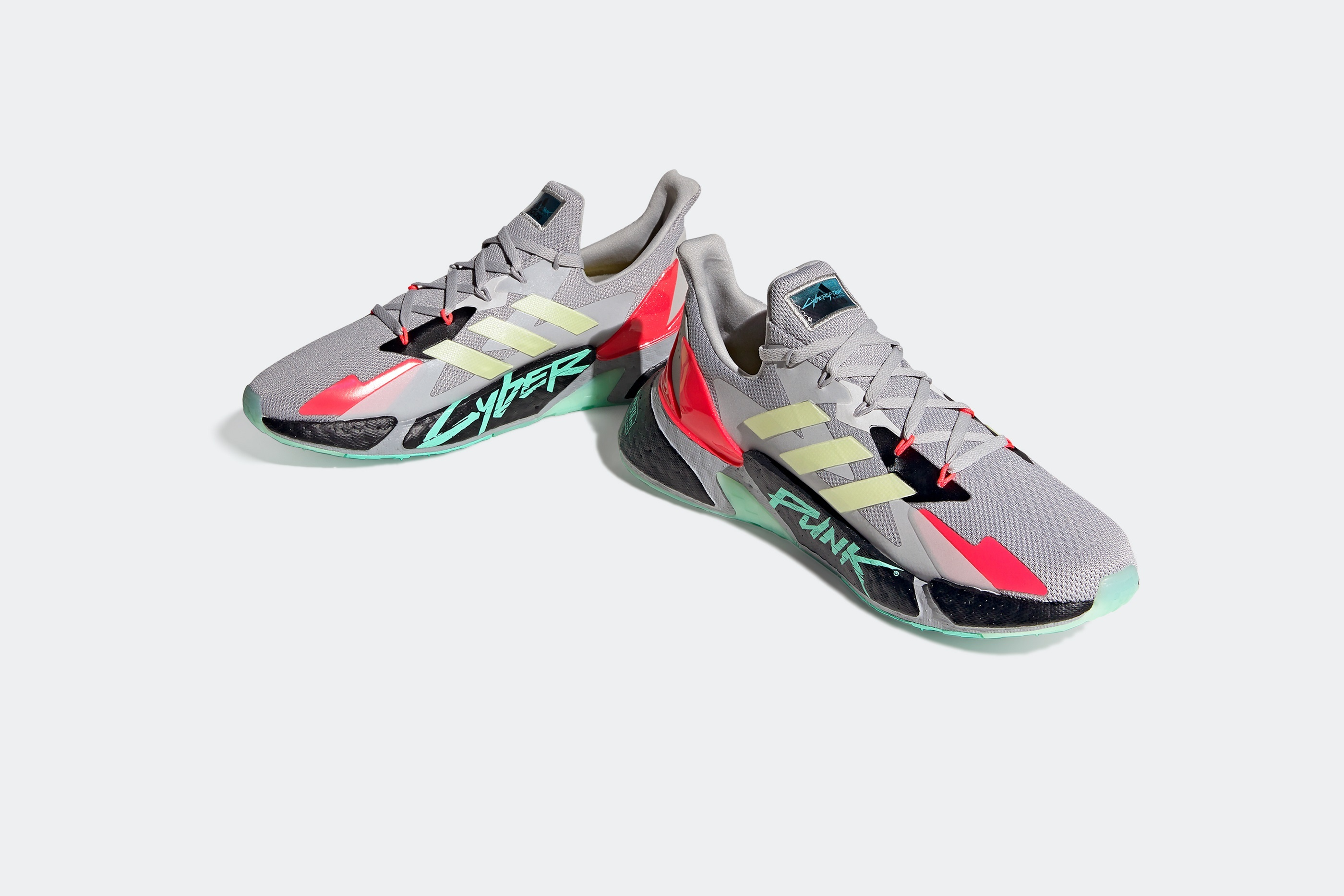 《赛博朋克2077》联动阿迪达斯推出跑鞋 科幻风酷炫