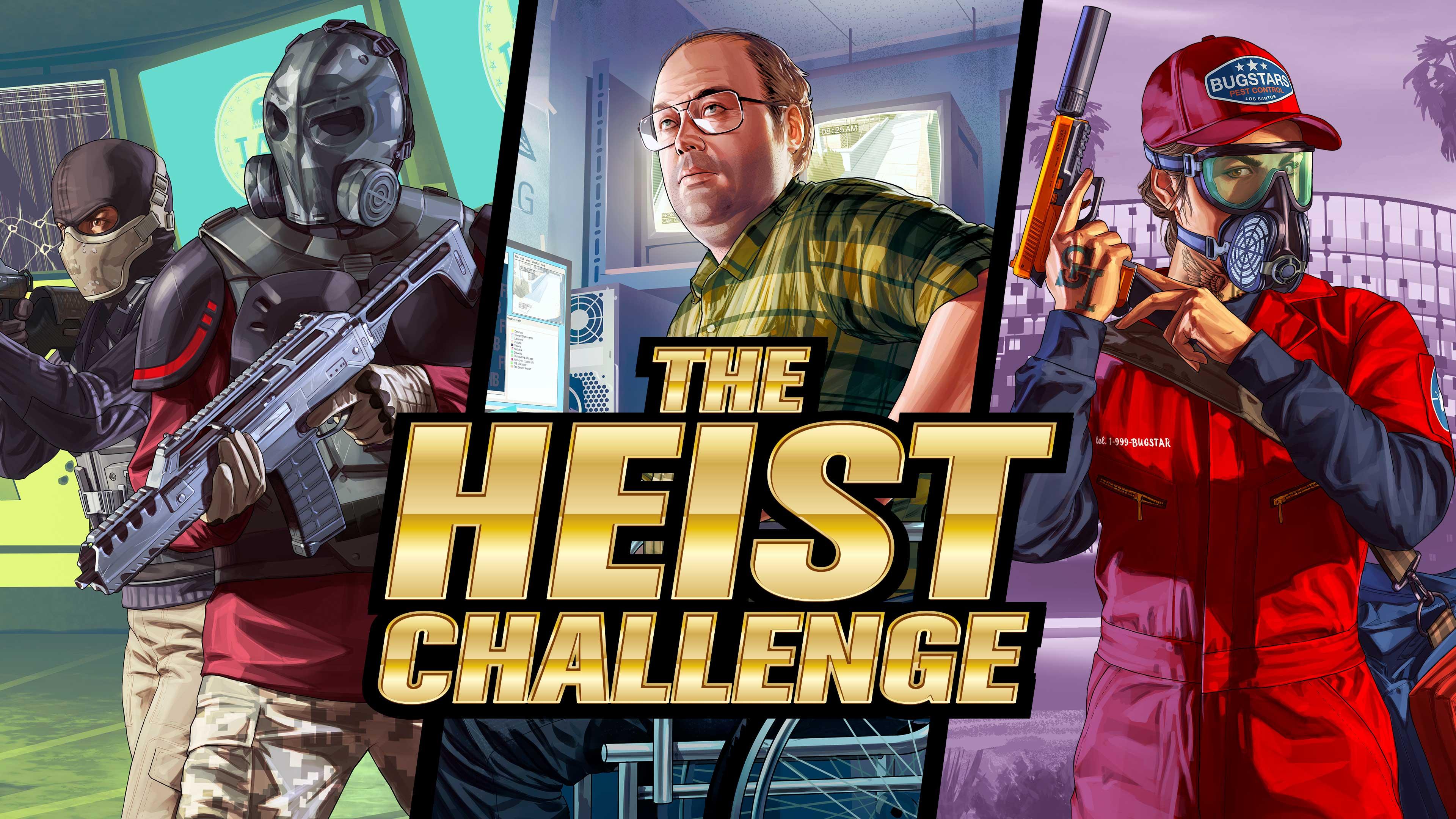 为下一版本做好准备 《GTAOL》推出特别抢劫任务挑战