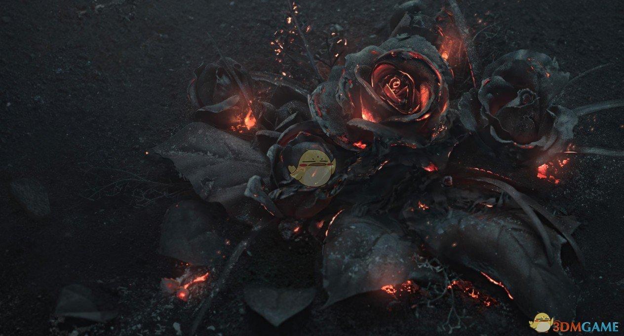 《Wallpaper Engine》烧焦的玫瑰动态壁纸