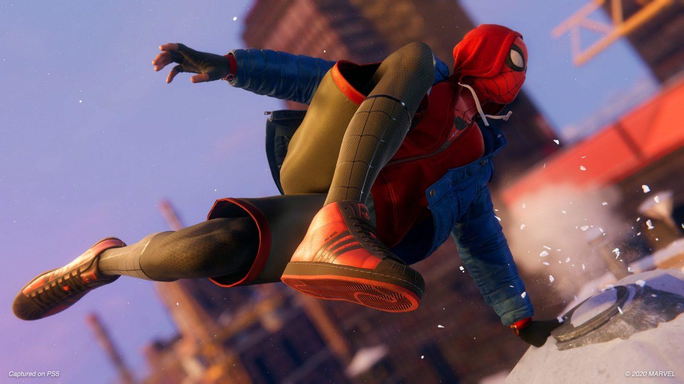 《漫威蜘蛛侠:迈尔斯》奇葩BUG 蜘蛛侠变成蜘蛛砖