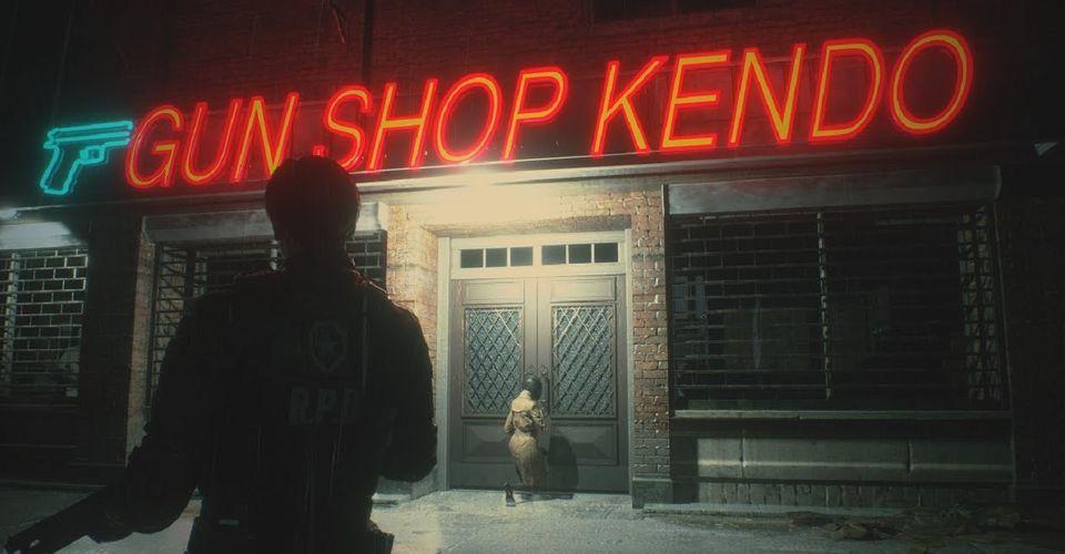 复原游戏场景 《生化危机》电影重启版片场照曝光