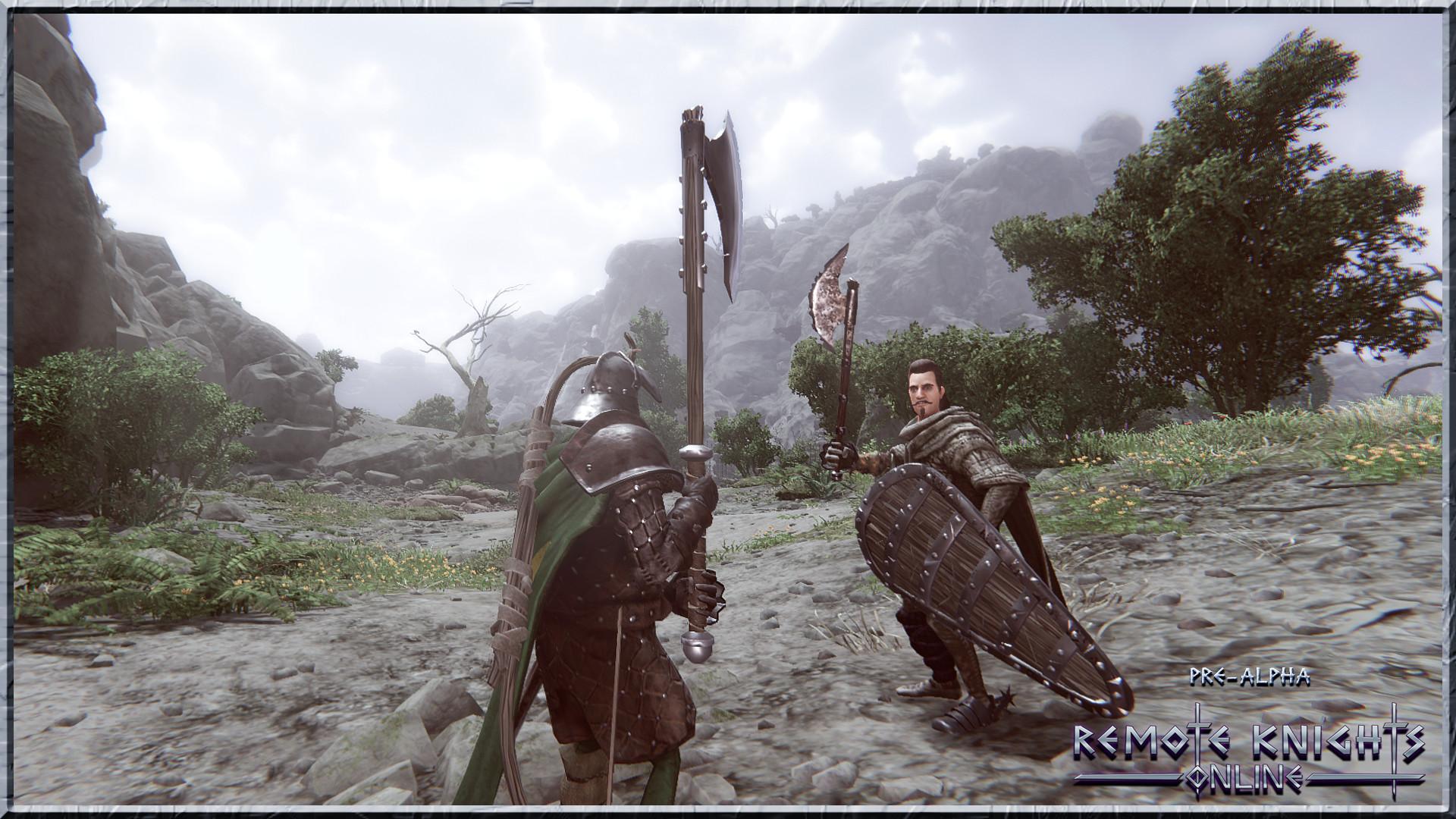 敞开国际动作RPG《长途骑士在线》上架Steam 支撑简中