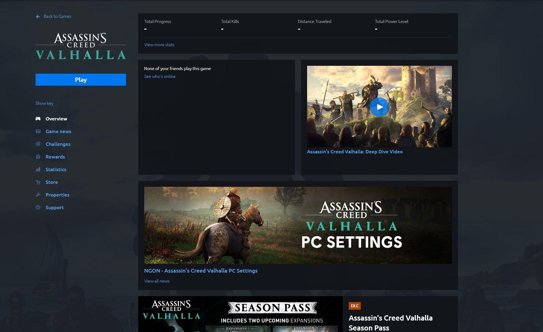 《刺客信条:英灵殿》PC版取消成就系统 育碧致