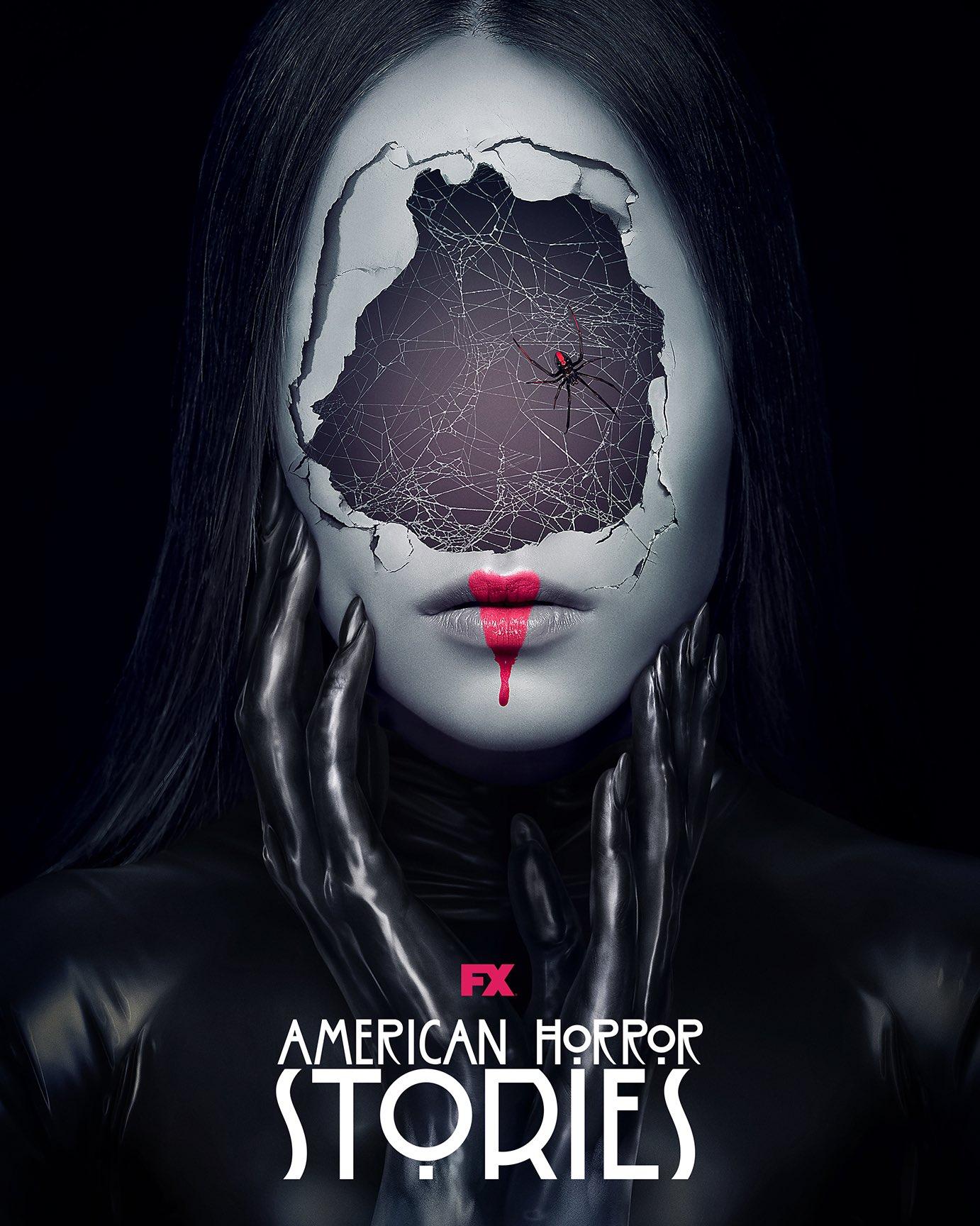 《美国恐怖故事》第十季海报 女人破碎之脸让人胆寒