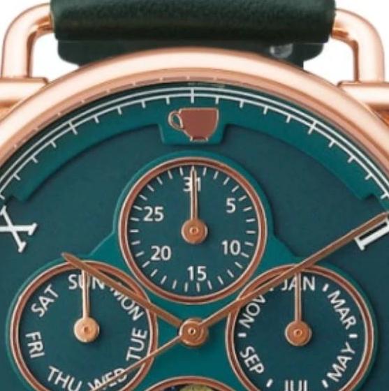 《进击的巨人》主题新款腕表公开 做工精良设计新颖