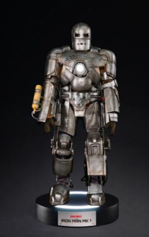 《钢铁侠》Mark1实大雕像公开 12月《东京漫展2020》唯一发售