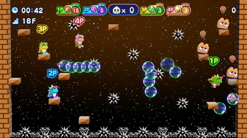 《泡泡龙4伙伴-骷髅阿怪的反击》正式登陆PS4平台