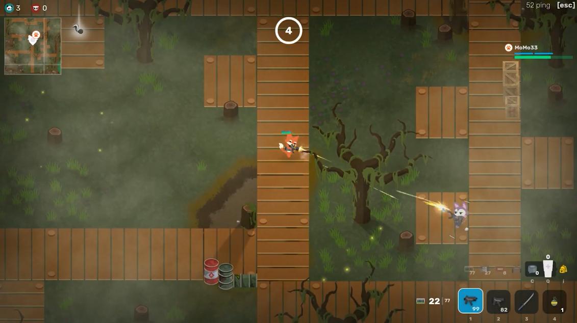 steam平台《超级动物大逃杀》目前已转为免费游戏