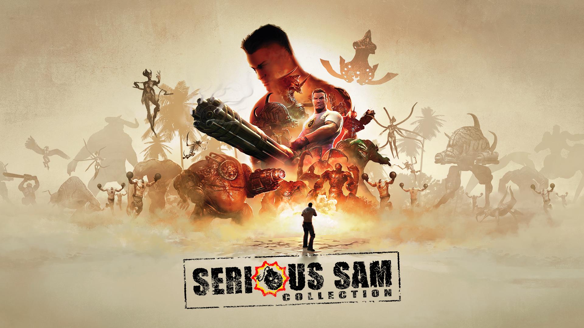 《英雄萨姆合集》正式推出 登陆PS4/Xbox/Switch平台