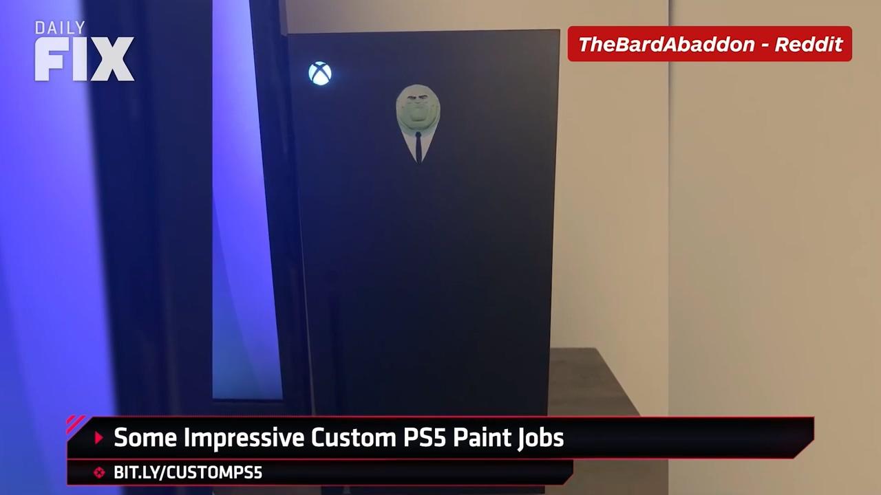 真的很棒!国外玩家已经开始DIY PS5面板了